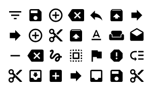 Material Design Icons Master Content