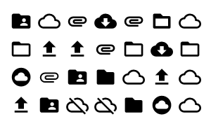 Material Design Icons Master File