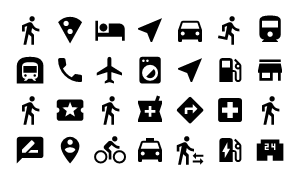Material Design Icons Master Maps