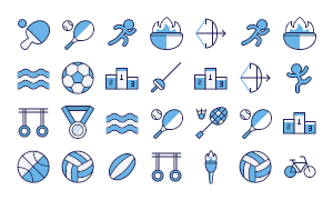 Olympic Icons Free