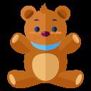 Teddy Bear Icon Free Flat Icons Vol 2