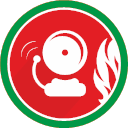 Attention Bell Danger Fire Problem Icon Fire