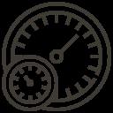 Automobile Car Mile Service Speed Icon Car Accessories