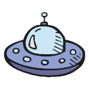 Color Sticker Ship Icon Space Icons 265