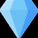 Diamond Icon Web And Mobile Icon Bundle Color