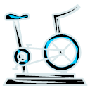 Exercise Fitness Gym Icon Fitness
