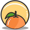Food Health Nutrition Orange Icon Splash Of Fruit