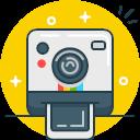 Instagram Photo Polaroid Selfie Shoot Icon Free Version