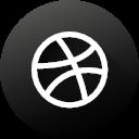 White Game Gamer Gaming Gradient Social Media Twitch Icon Social Media Black White
