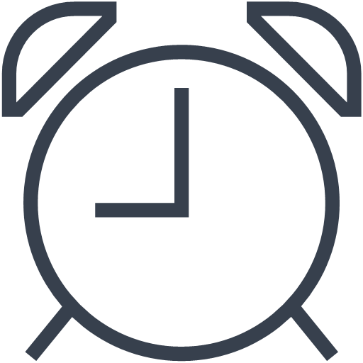 alert attention clock stopwatch time timer icon