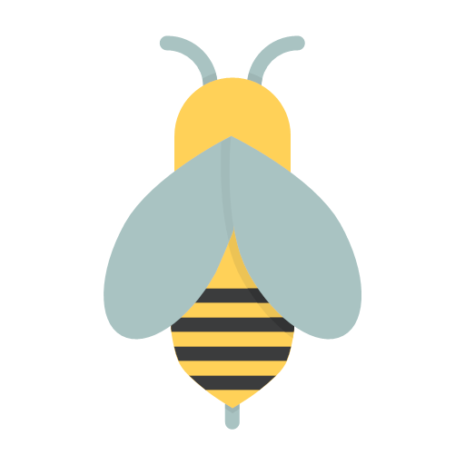 apiculture, bee, beekeeping, fly, honey, insect, icon