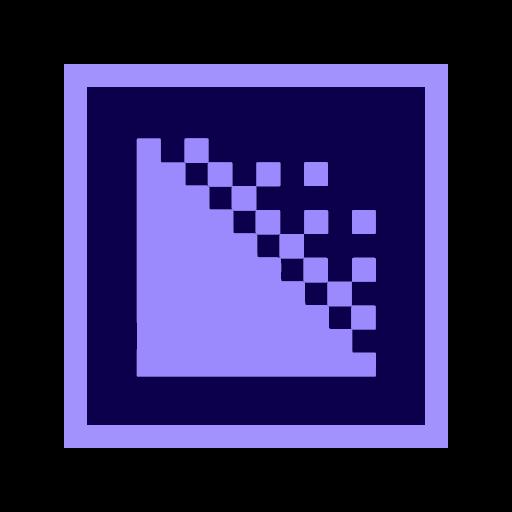 app audio encoder format media video icon - Adobe Apps   Free icons