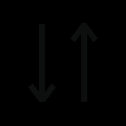 ascending descending match order sort sorting icon