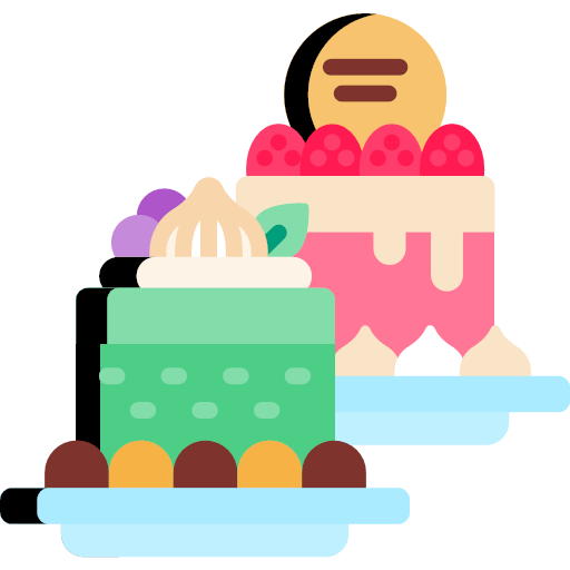 Bakery svg flat fancy cakes icon , Bakery Icons 2017