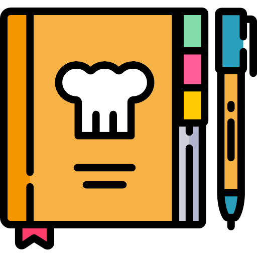 Bakery svglinecolor recipe book icon - Bakery Icons 2017