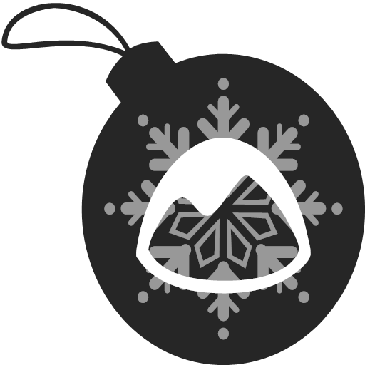 basecamp, christmas, icon