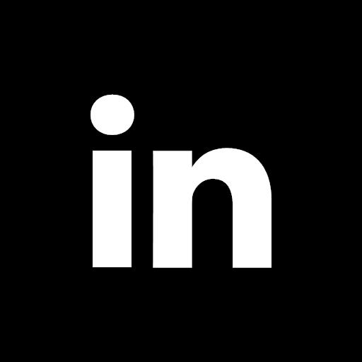 Modern Blue Circle LinkedIn Icon — Stock Vector © bigxteq ... |Linkedin Icon Circle