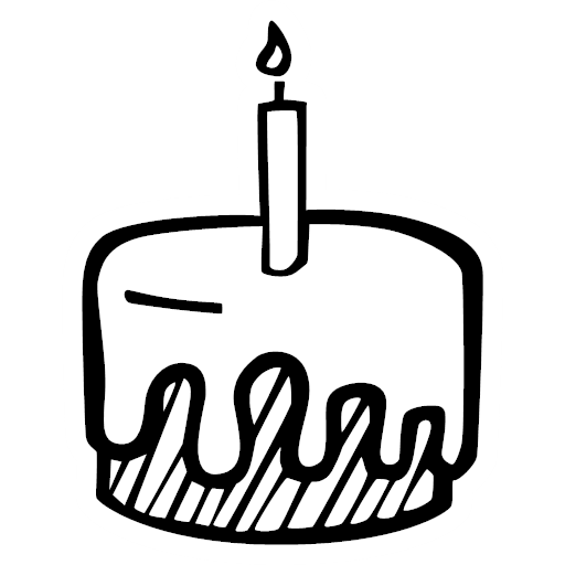 cake, celebration, food, party, present, icon