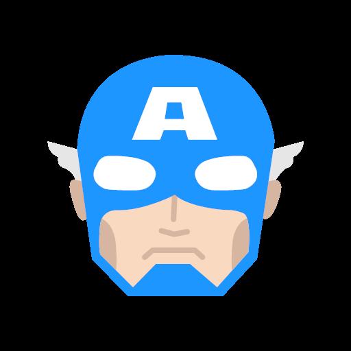 ainutlaatuinen muotoilu houkutteleva hinta uusia valokuvia Captain captain amerika marvel icon - Famous Characters Add ...