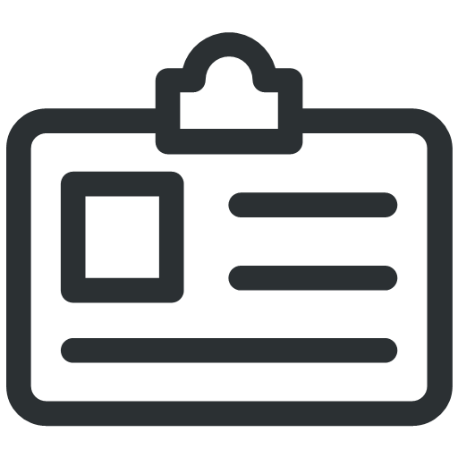 card id id card identity identity card icon useful card id id card identity identity card