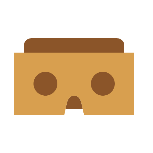 cardboard, contact, google, pack, icon