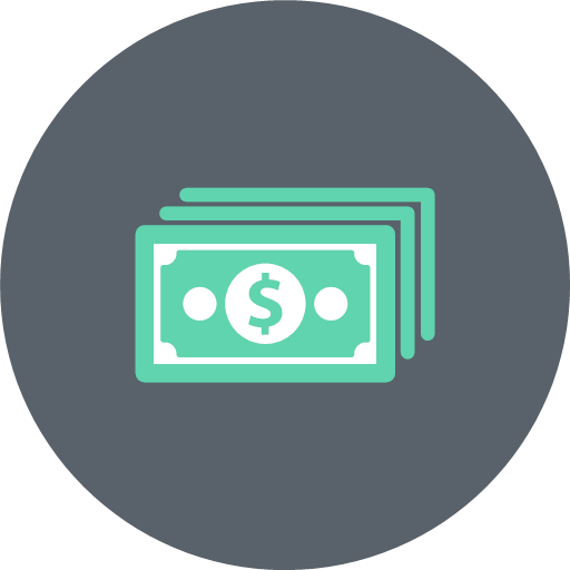 Cash Dollar Exchange Money Payment Price Icon Banking And