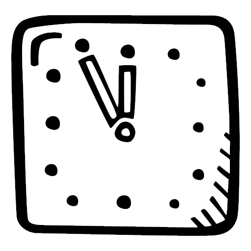 clock, hour, time, timer, watch, icon