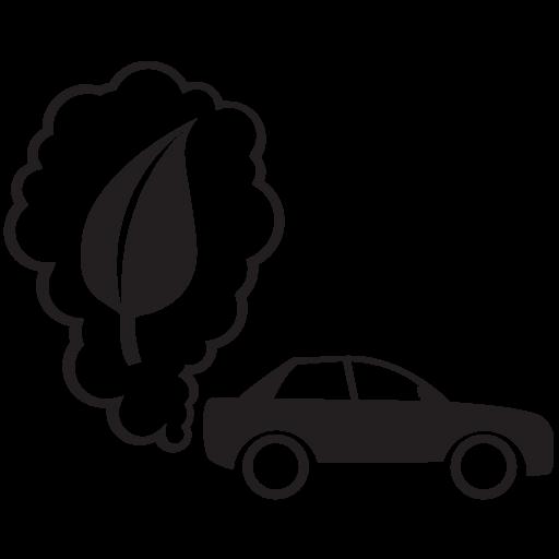 Co2 Electric Car Fuel Fuel Savings Green Energy Hybrid Car Icon