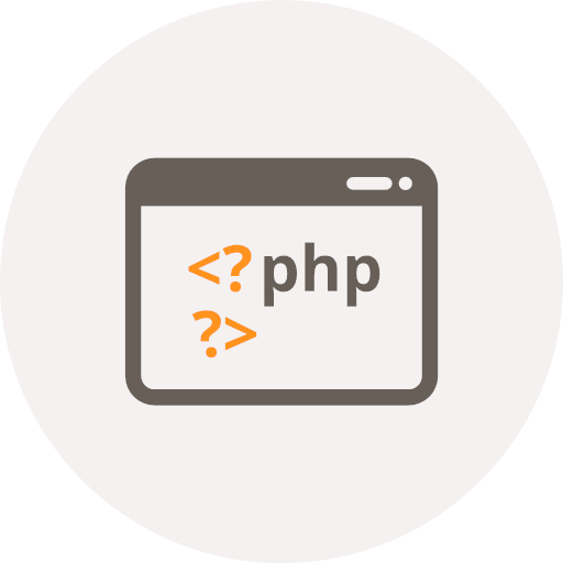 Php Icon of Flat style - Available in SVG, PNG, EPS, AI & Icon fonts | 512x512