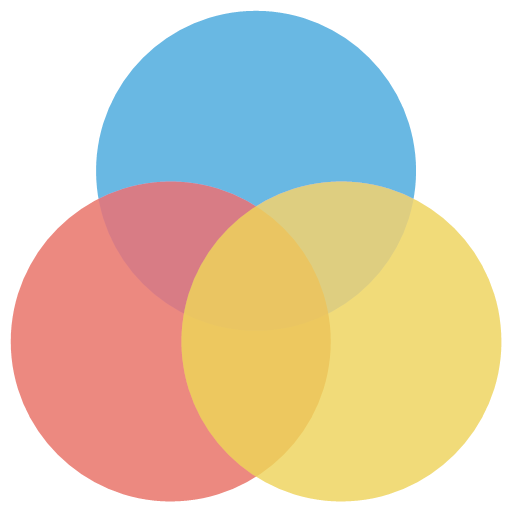 color photo editor icon