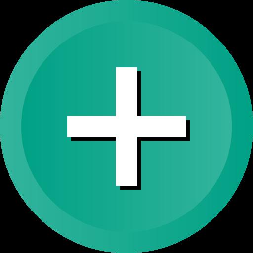 Create cross math new plus sign icon - Ios Web User Interface Multi Circle Flat Vol 1