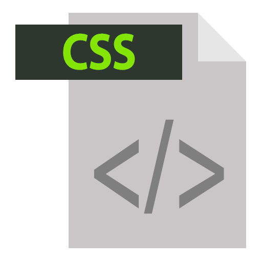 css css extention extention file format icon