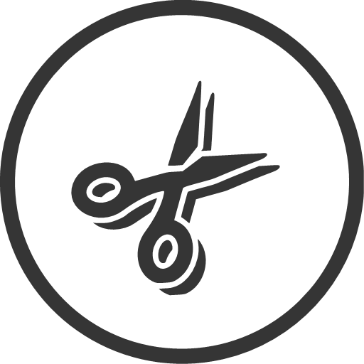 cutting, diy, scissors, tool, icon