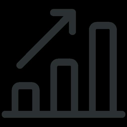 Diagram Graph Line Report Statistics Up Icon