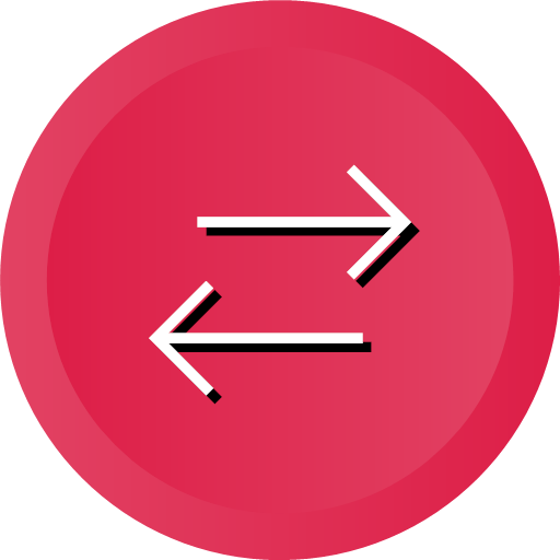 direction, orientation, swap, switch, icon