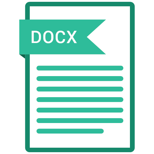 docx, file, format, paper, icon, book, case, data, directory, dossier, folder, information, list, notebook, record