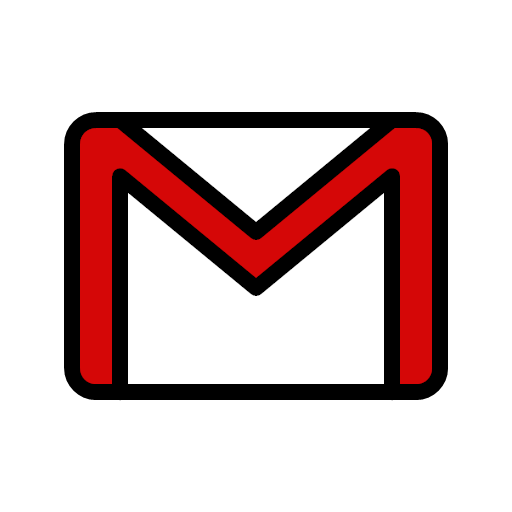 Email gmail mail message service icon -