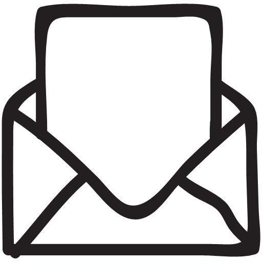 envelope, letter, mail, message, open, post, icon