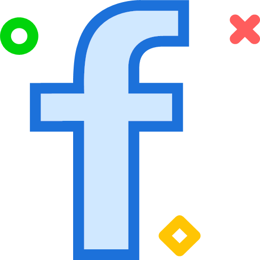 facebook, logo, network, social, icon, brand, emblem, label, symbol, tag, identification, imprint, logotype, brand name, chain