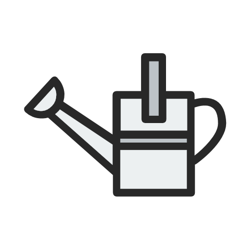 farm, garden, gardening, tool, tools, watering, icon