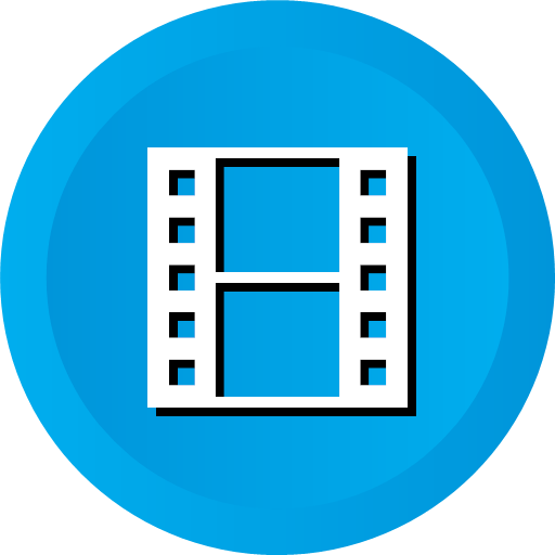 film, movie, multimedia, play, short, video, icon