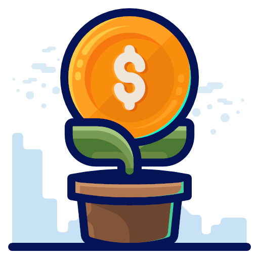 finance, money, growth, business, plant