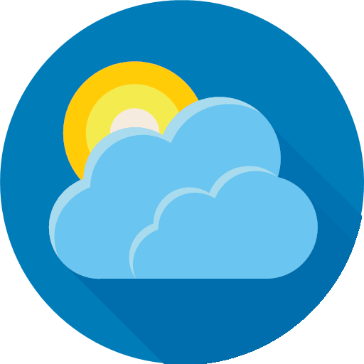 forecast, sun, weather, icon