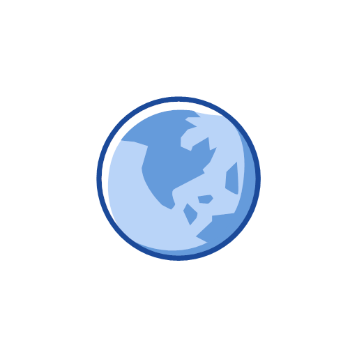 globe, notification, world, map, icon, map, planet, world, apple, ball, balloon, orb, round, spheroid, big blue marble