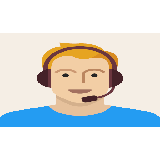 headset, male, man, person, support, young, icon