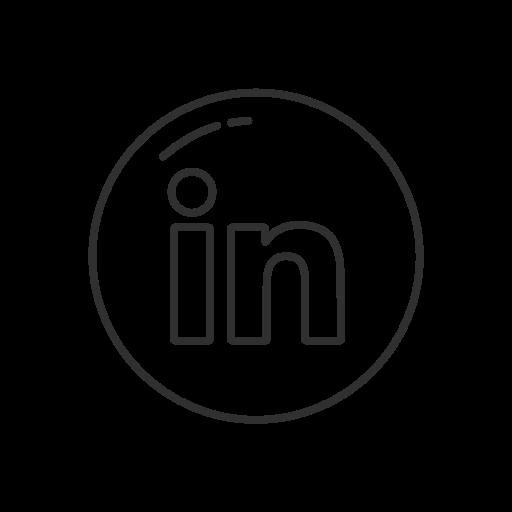 In Linkedin Button Linkedin Logo Social Media Icon Popular