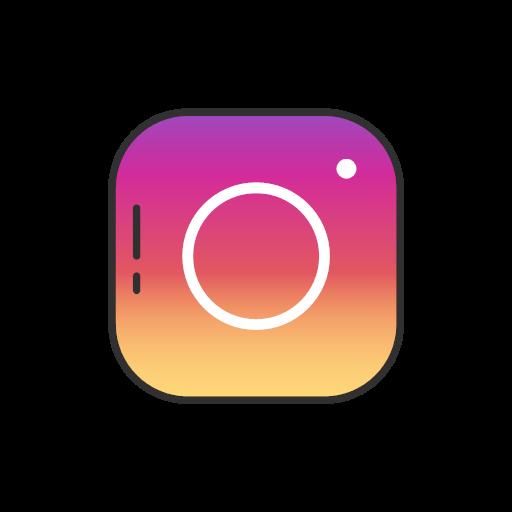 instagram logo label logo icon instagram ui colored instagram logo label logo icon