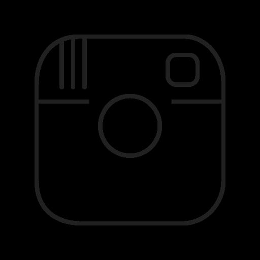 Instagram Logo Network Photo Pictures Social Icon Social Media Logos I Linear Black