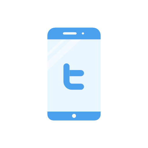 label, phone, twitter, logo, icon