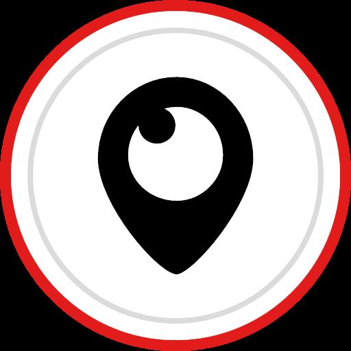 logo media periscope social icon